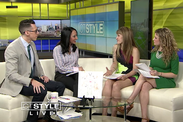 Watch my TV appearance on CT Style
