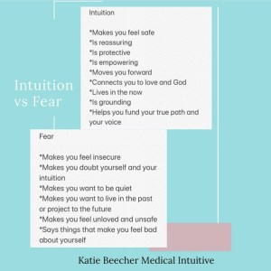 INTUITION VS FEAR – How do you know the difference?
